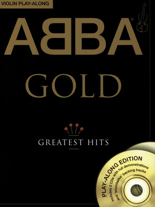 ABBA: Abba Gold Violin Play-Along Vln Book/2Cd