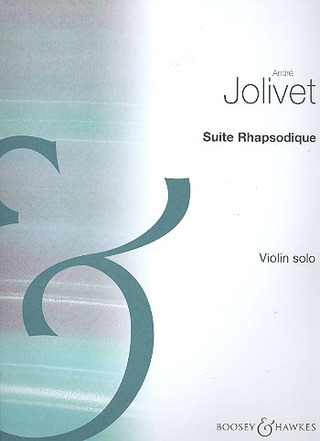 André Jolivet: Suite Rhapsodique (1965)