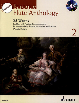 Annabel Knight: Baroque Flute Anthology Vol. 2