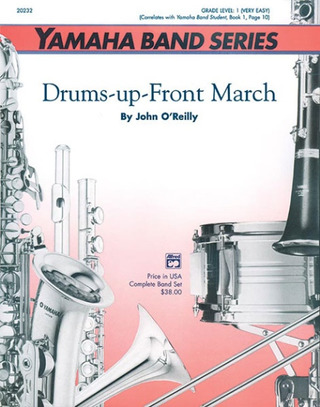 John O'Reilly: Drums–up–Front March