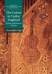 Christopher Page: The Guitar in Tudor England