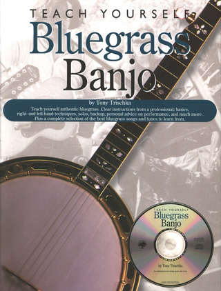 Trischka Tony: Teach Yourself Bluegrass Banjo (Trischka) Bk/Cd