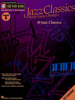 Jazz Classics with Easy Changes