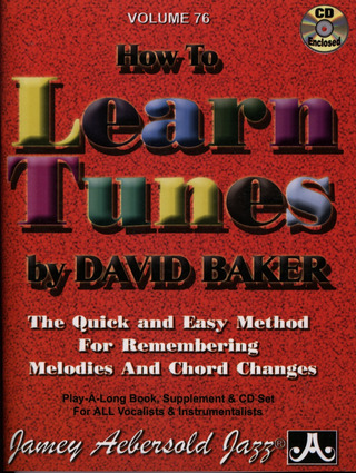 Jamey Aebersold: How To Learn Tunes