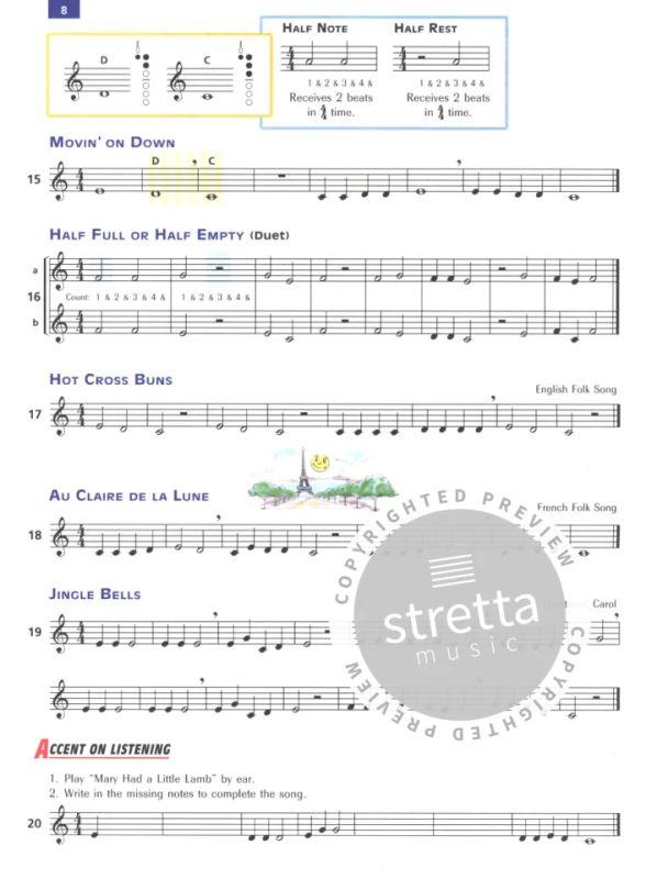 Volume 1 Accent on Achievement Clarinetto