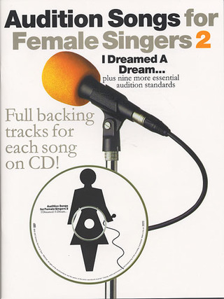 Audition Songs For Female Singers 2 Book/Cd