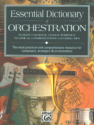 Dave Black et al.: Essential Dictionary of Orchestration