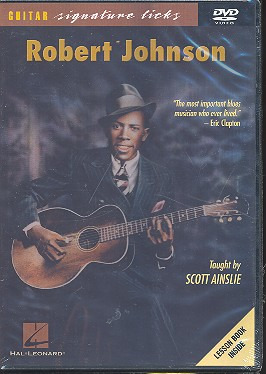 Johnson Robert: Robert Johnson Guitar Signature Licks Gtr Dvd