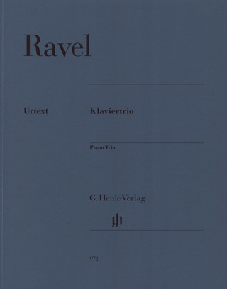 Maurice Ravel: Piano Trio