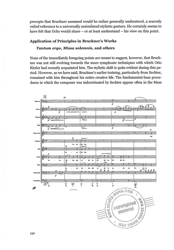 David F. Chapman: Bruckner and the Generalbass Tradition (6)