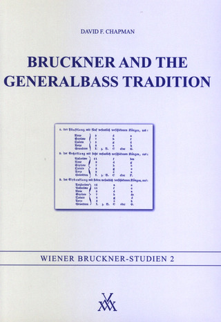 Chapman David F.: Bruckner And The Generalbass Tradition