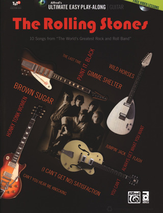 Rolling Stones: The Rolling Stones (+DVD) songbook vocal/guitar/tab
