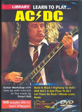 AC/DC: Lick Library: Learn To Play AC/DC
