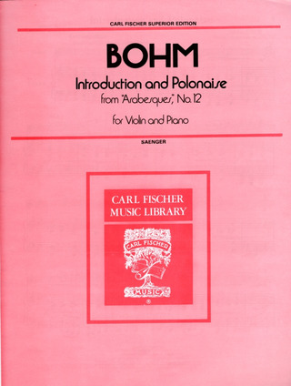 Carl Bohm: Introduction und Polonaise