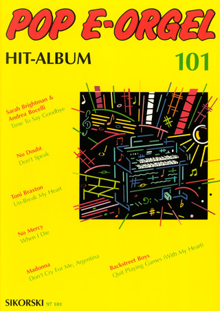 Pop E-Orgel Hit-Album 101