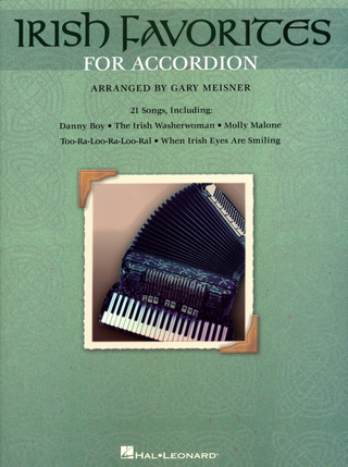 Irish Favorites For Accordion Acdn Book