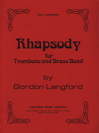 Gordon Langford: Rhapsody for Trombone and Brass Band