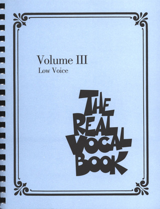 The Real Vocal Book 3 – Low Voice
