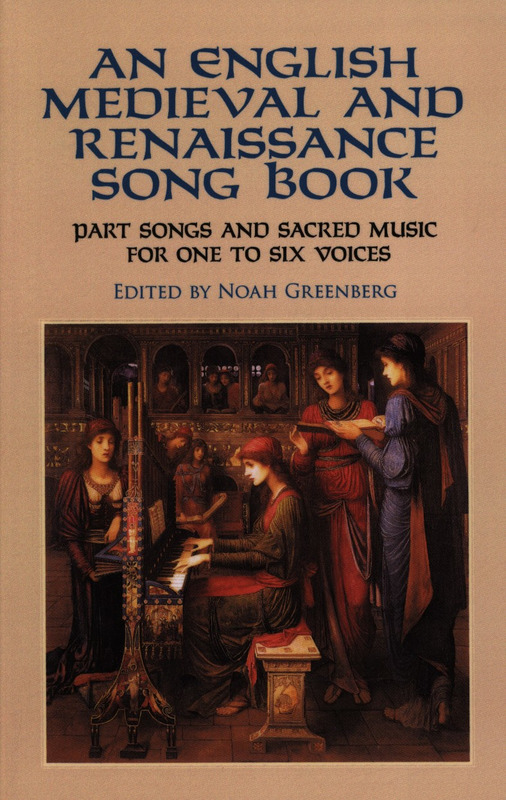 English Medieval And Renaissance Song Book For 1-6 Voices (Greenberg)