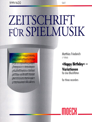 Friedrich, Matthias: Happy Birthday-Variationen