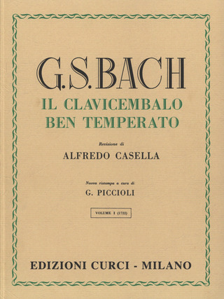 Johann Sebastian Bach: The Well-Tempered Clavier 1