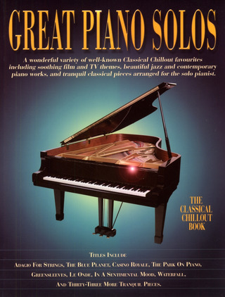 Great Piano Solos – The Classical Chillout Book