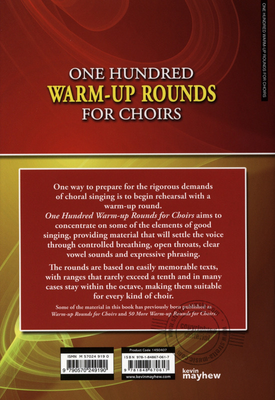One Hundred Warm-Up Rounds for Choirs (7)