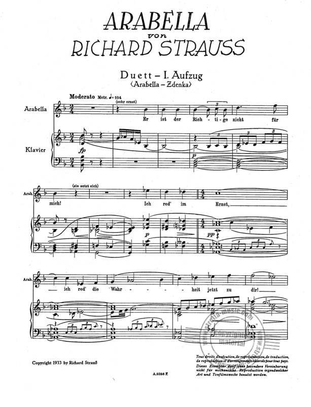 Richard Strauss: Arabella op. 79 (1)