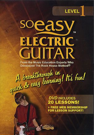 John McCarthy: So Easy Electric Guitar Level 1