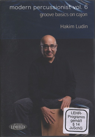 Ludin Hakim: Modern Percussion Vol. 6 - Groove Basics On Cajon