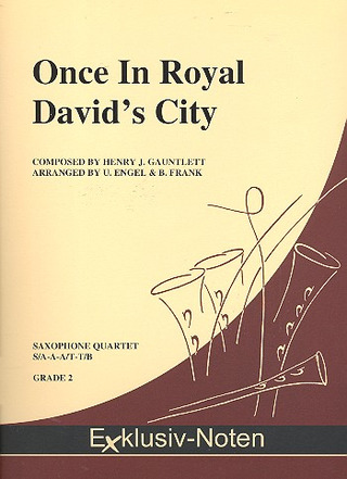 GAUNTLETT HENRY: Once in Royal David's City
