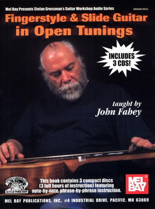 Fahey, John: Fingerstyle and Slide Guitar in Open Tunings
