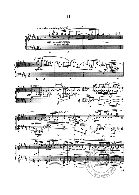 George Enescu: Troisieme Sonate, In Re Majeur - Opus 24 Pour Piano (2)