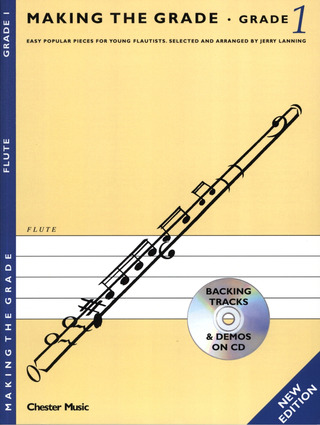 Making The Grade Flute Grade 1 Revised Edition Bk/Cd