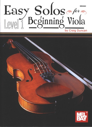 Easy Solos for Beginning Viola 1