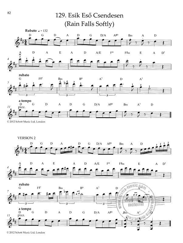 Hungarian Fiddle Tunes (9)