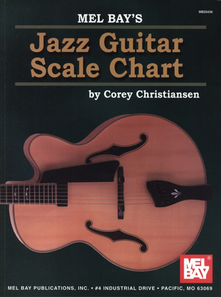 Corey Christiansen: Jazz Guitar Scale Chart