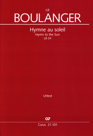 Lili Boulanger: Hymn to the sun LB 24