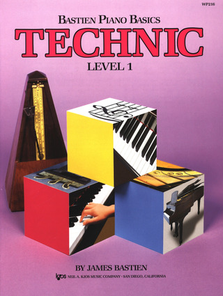 James Bastien: Bastien Piano Basics – Technic 1