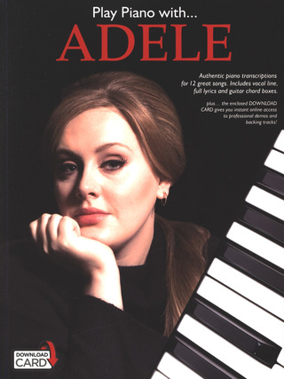 Adele Adkins: Play Piano With... Adele (Book/Audio Download)