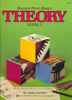 James Bastien: Bastien Piano Basics – Theory 3