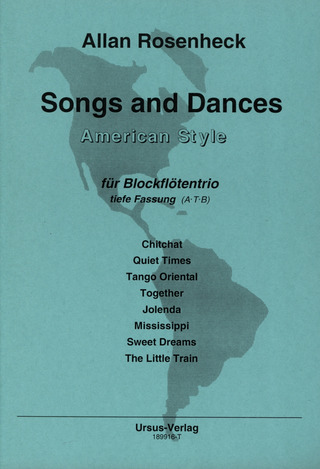 Allan Rosenheck: Songs and Dances - American Style