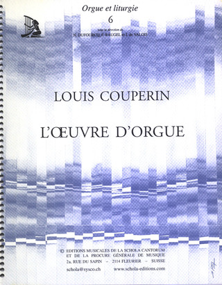Louis Couperin: L'Oeuvre D'Orgue