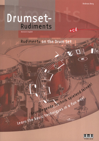 Andreas Berg: Rudiments on the drum set