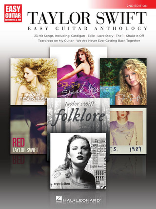 Taylor Swift: Taylor Swift – Easy Guitar Anthology