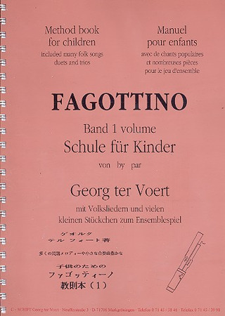 Georg ter Voert: Fagottino 1