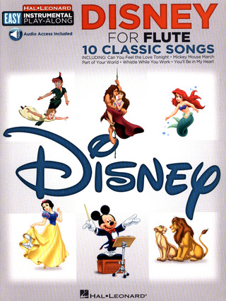 Easy Instrumental Play-Along: Disney – Flute