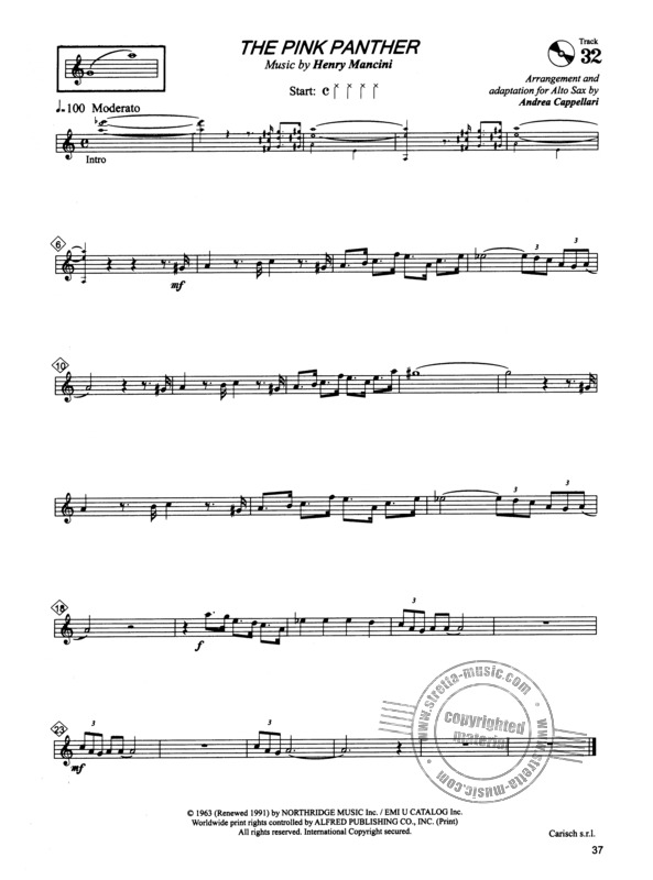 Alto Saxophone Anthology Buy Now In The Stretta Sheet Music Shop