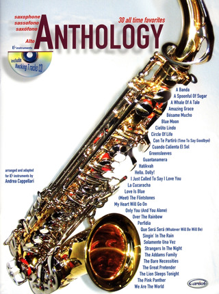Alto Saxophone Anthology