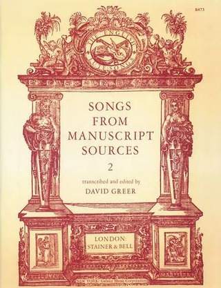 Songs from Manuscript Sources 2
